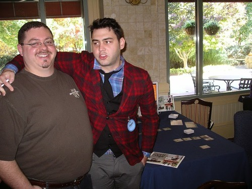 2013 Paxson of Ashgarden and Todd during the 2013 GMX convention outside of Nashville