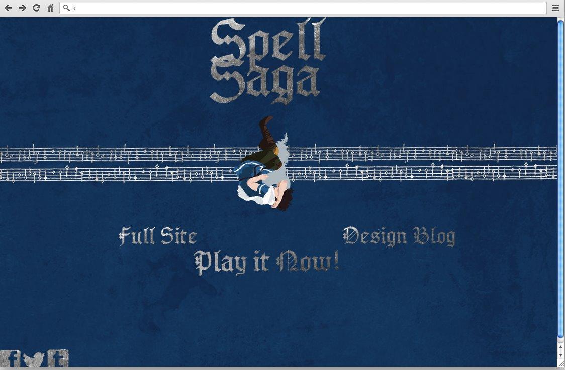 2013 the first spell saga website