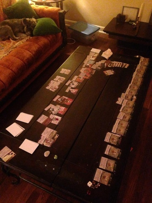 2014 Todd's first finished game of Deck Two ~ The forest ~