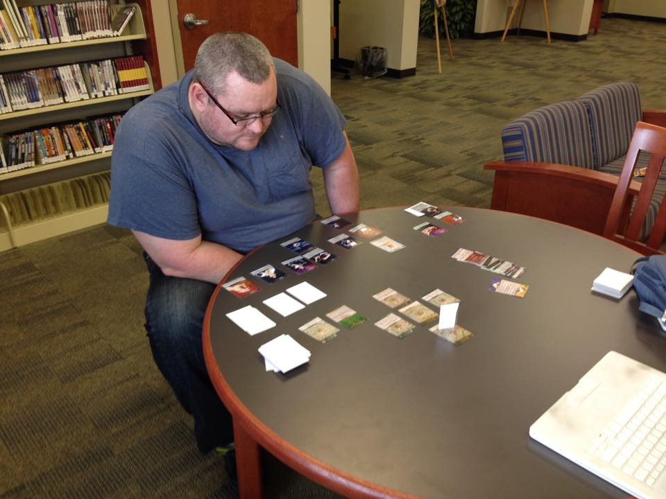 2014 Sakroka plays through and fixes Deck 2 ~ The Forest ~ on October 18th.