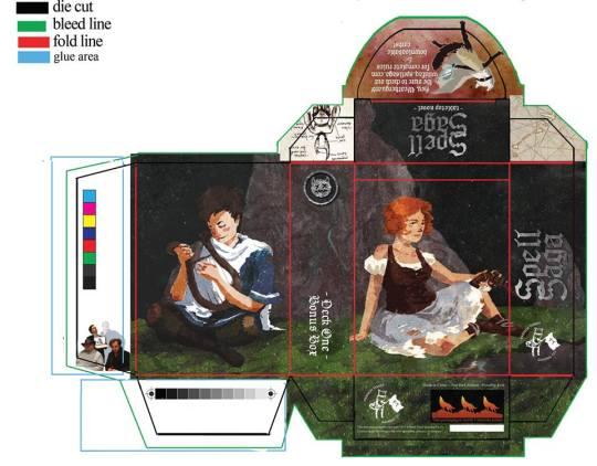 2015 The original Deck One ~ The Highlands ~ Bonus Box packaging