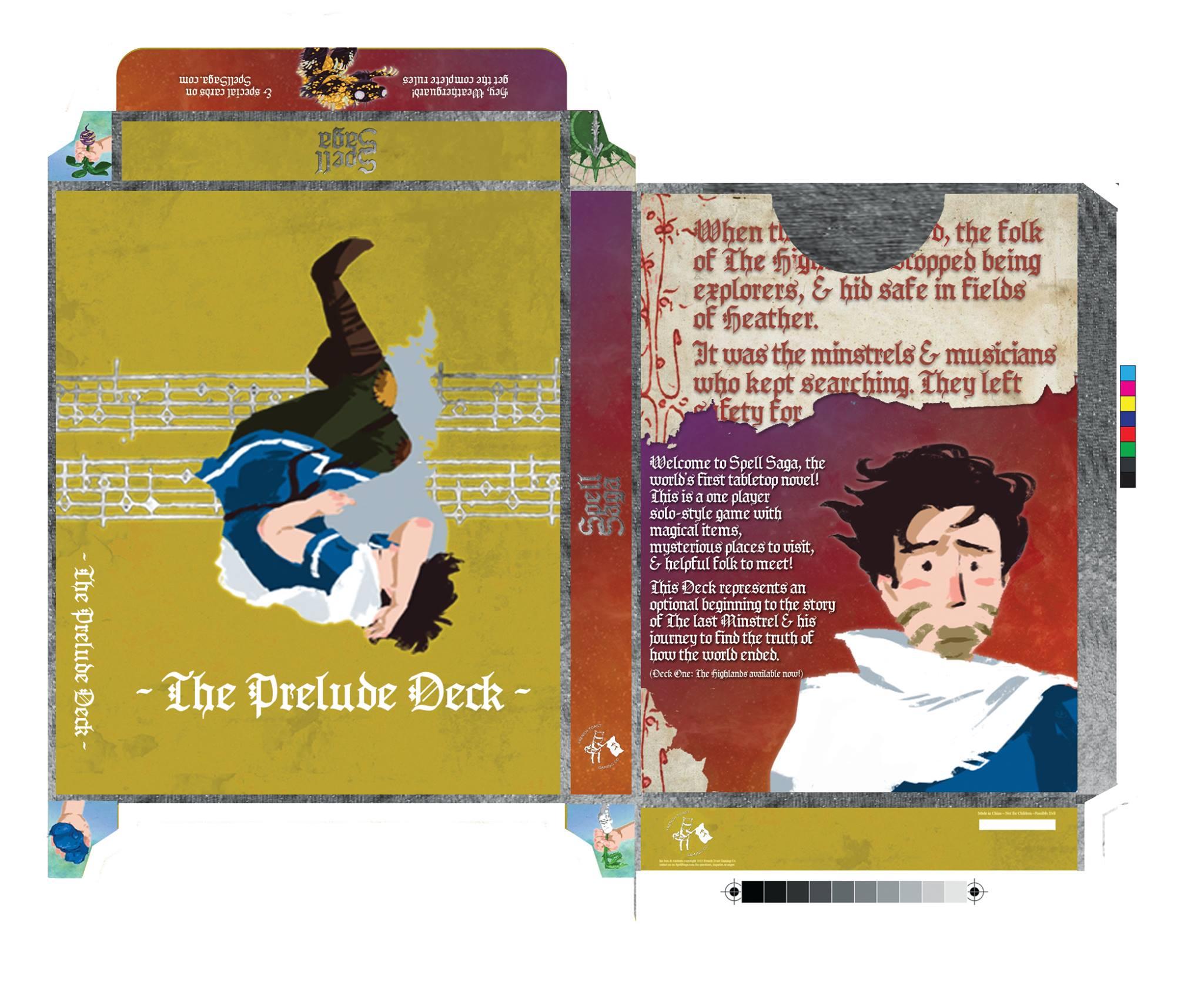 2015 original Prelude Deck packaging