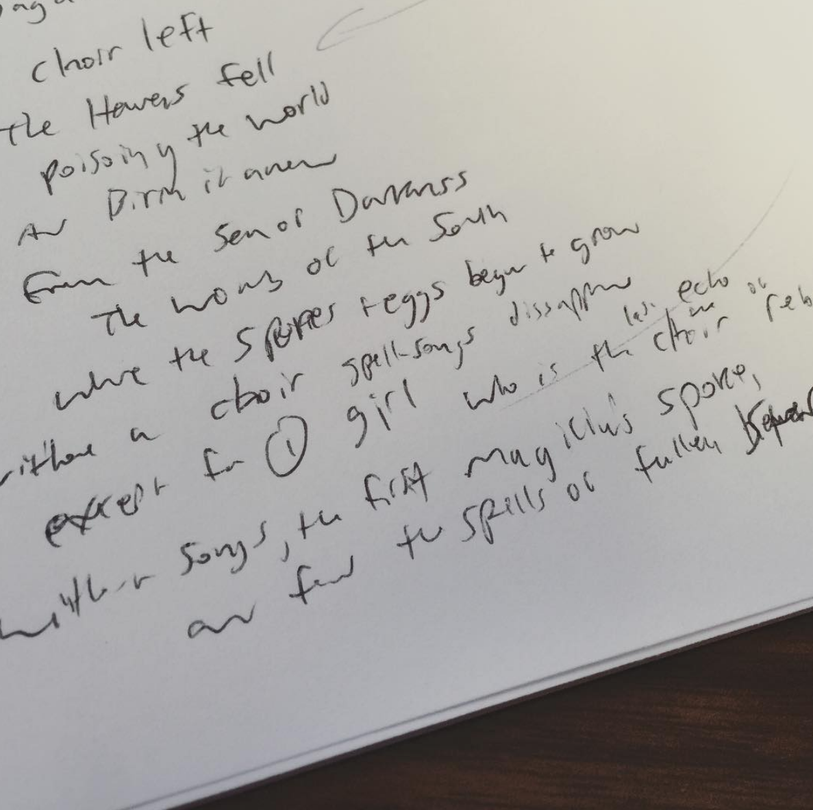 "2015 A rare scrap of Multiplayer ""Super Spell Saga"" notes"