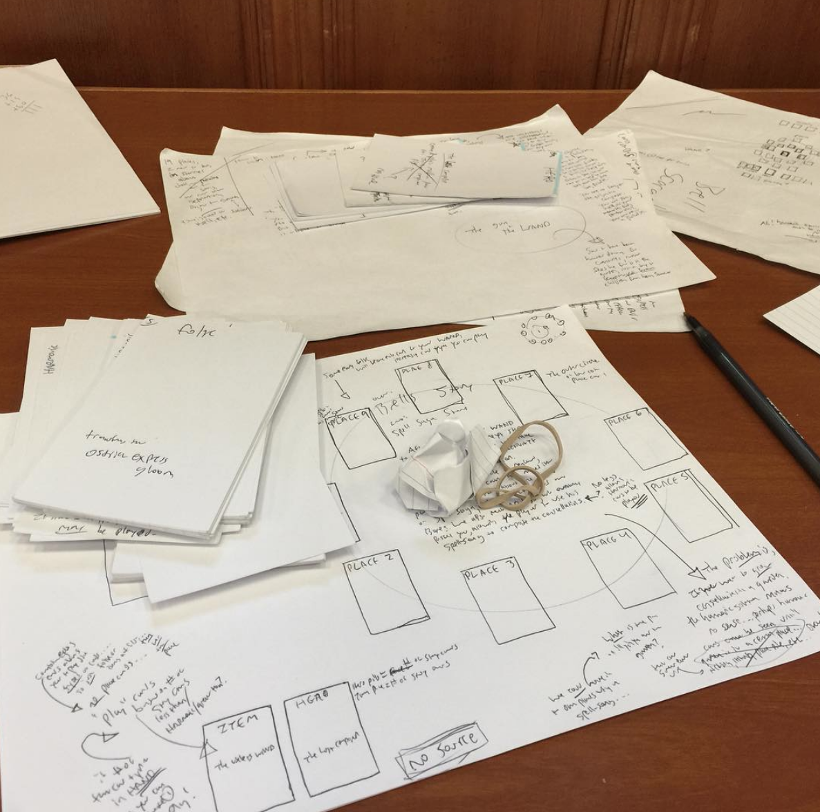 2016 rwTDS Game Design notes October 20th