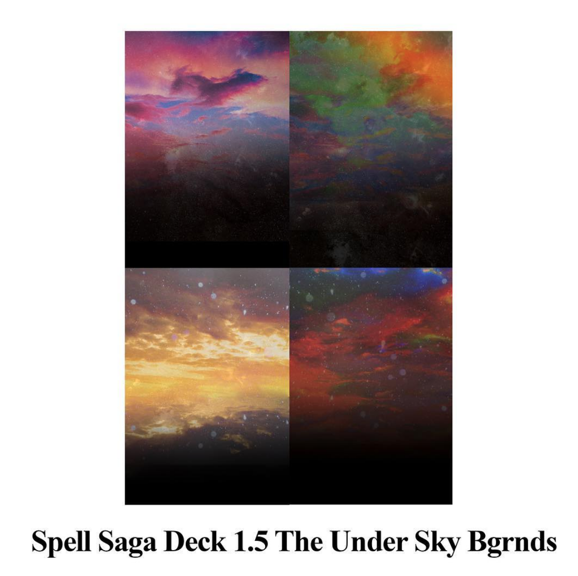 2017 picture of the Deck 1.5 ~ The Under Sky card backgrounds