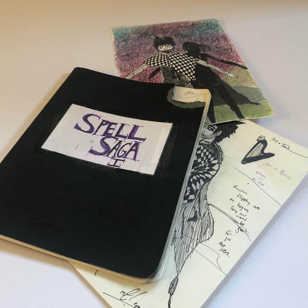 Original 2009 Spell Saga design journal