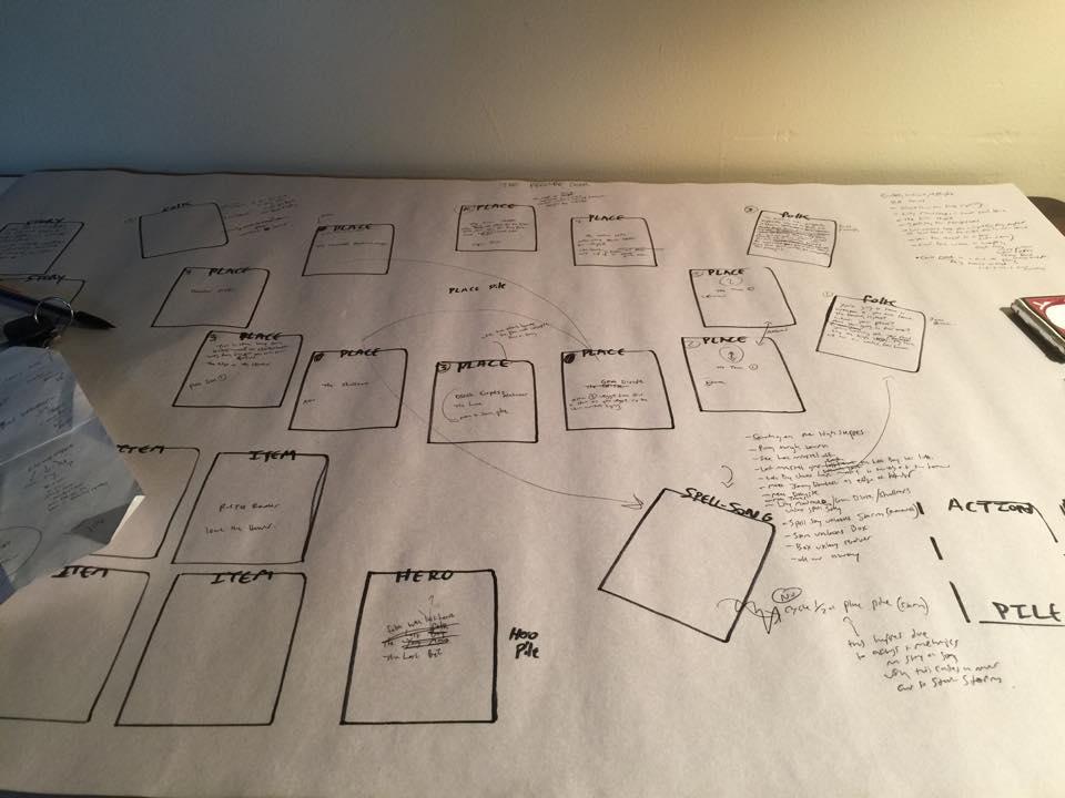 2015 Work begins on the Spell Saga 25 card Prelude Deck.