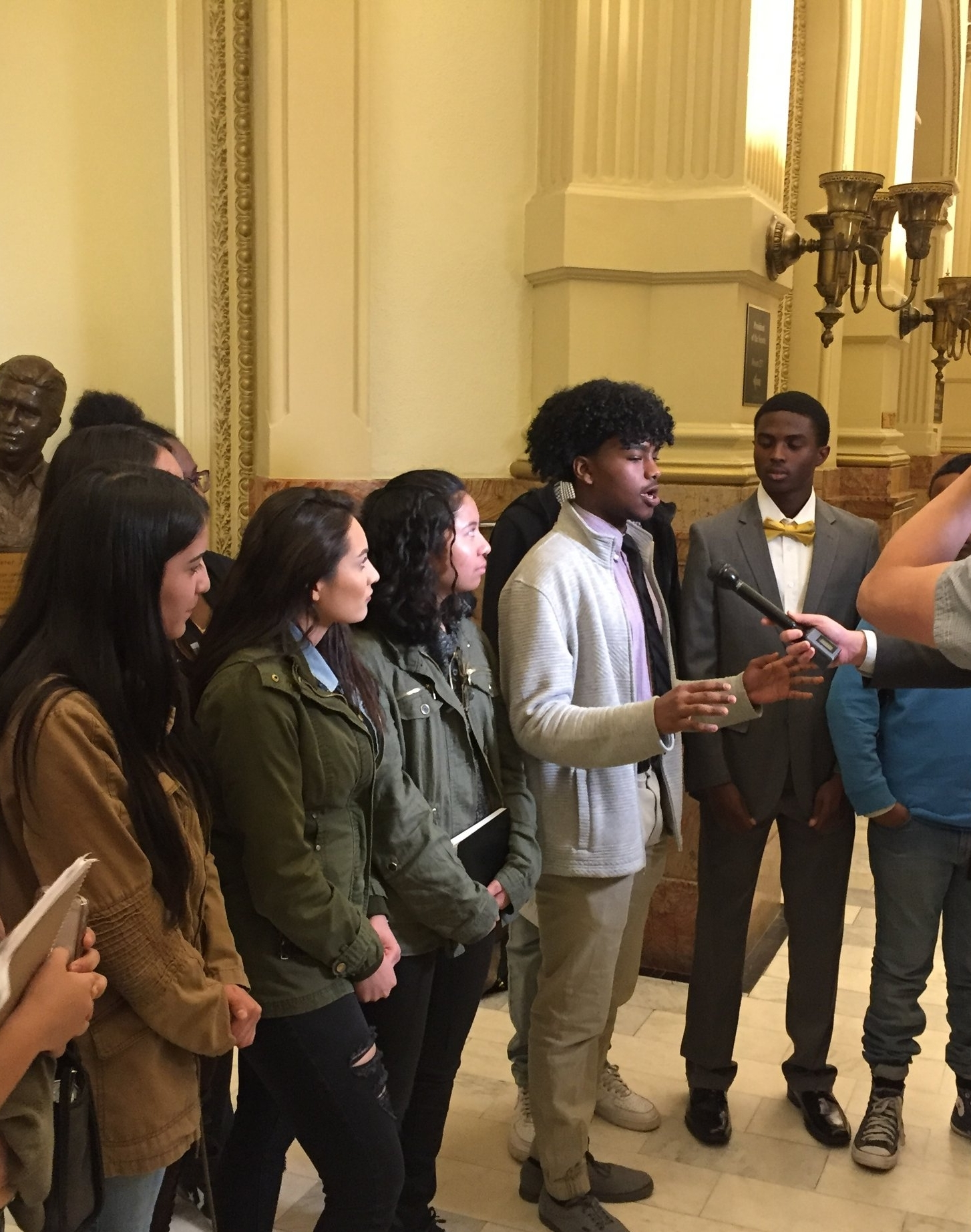 About SV2 - Student Voice, Student Vote (SV2) is a growing coalition of young people, parents, educators, youth organizations, and civic organizations seeking to change Colorado state law to allow 16- and 17-year-olds the right to vote in school board elections.