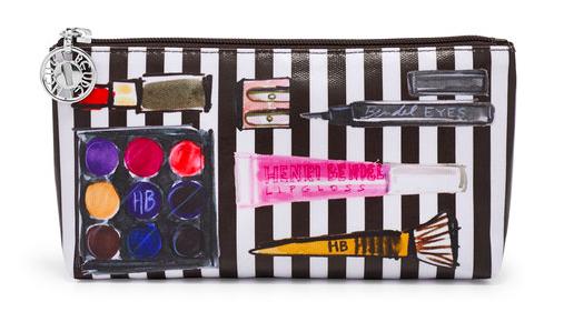 Medium T Gusset Cosmetic Bag - $48