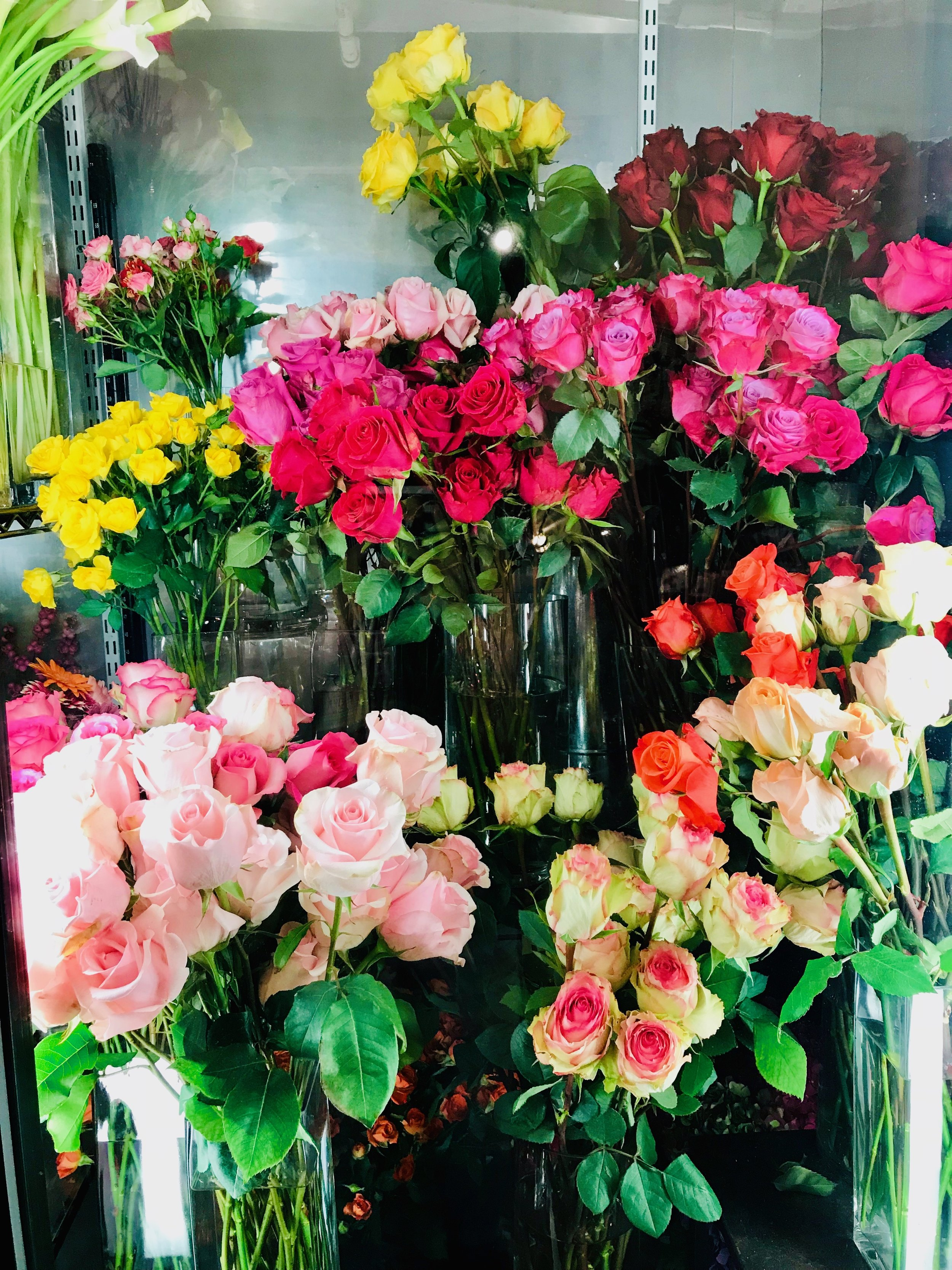 I found these gorgeous fresh flowers inside of the Gramercy Park Flower Shop on the bottom level of the Plaza!
