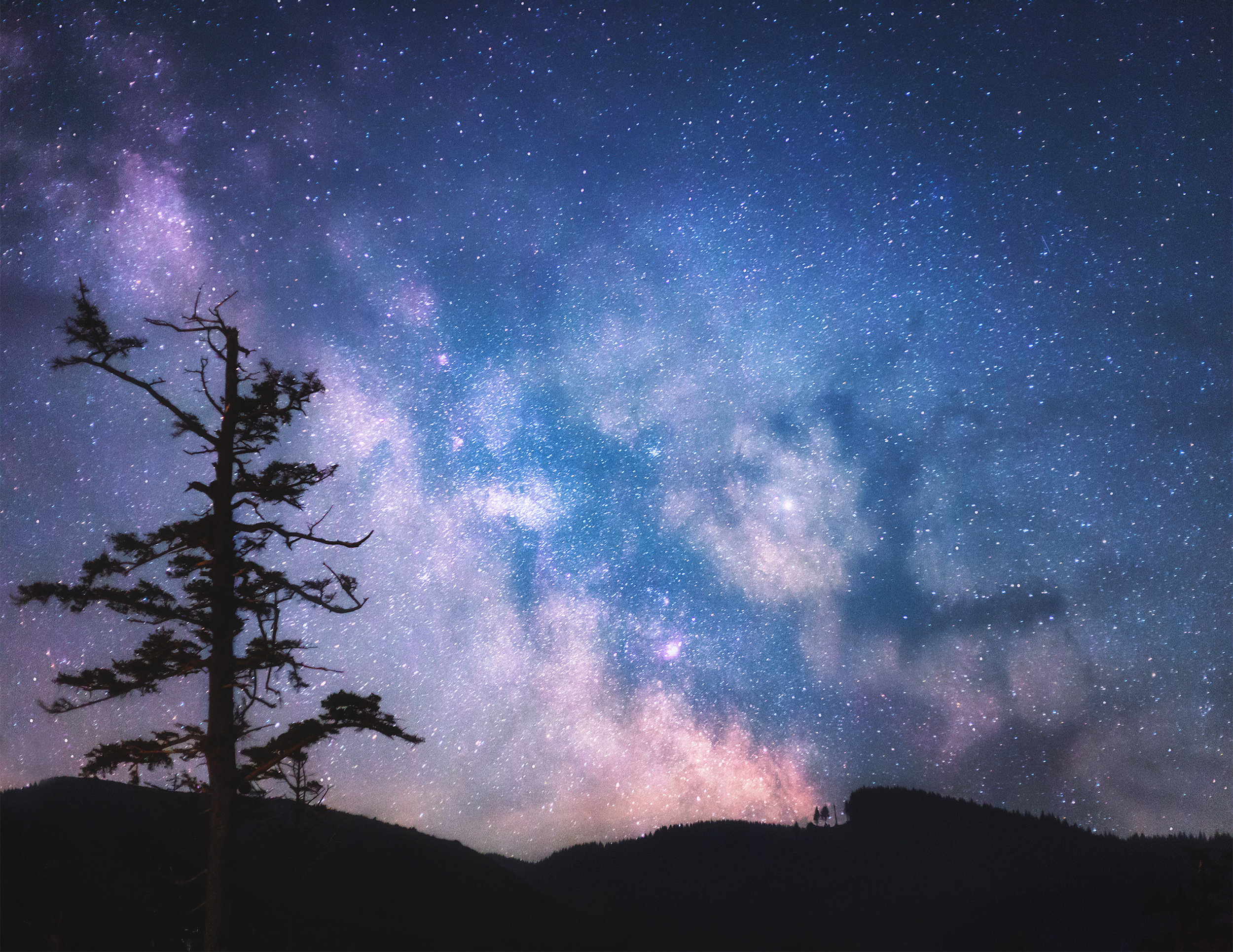 The Milky Way from Cape Lookout Campground