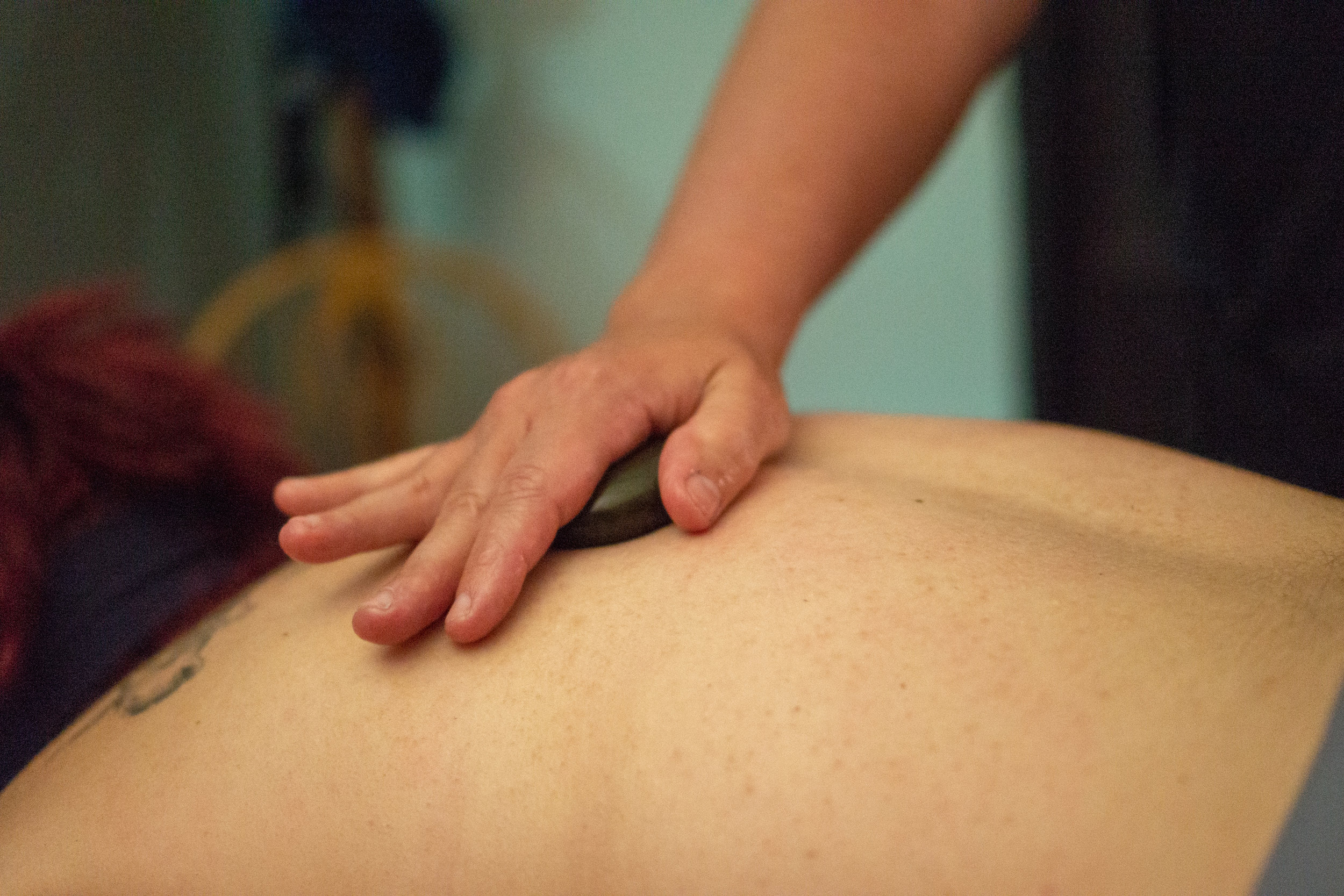 3Bs Massage and Bodywork Hot Stones Add-On