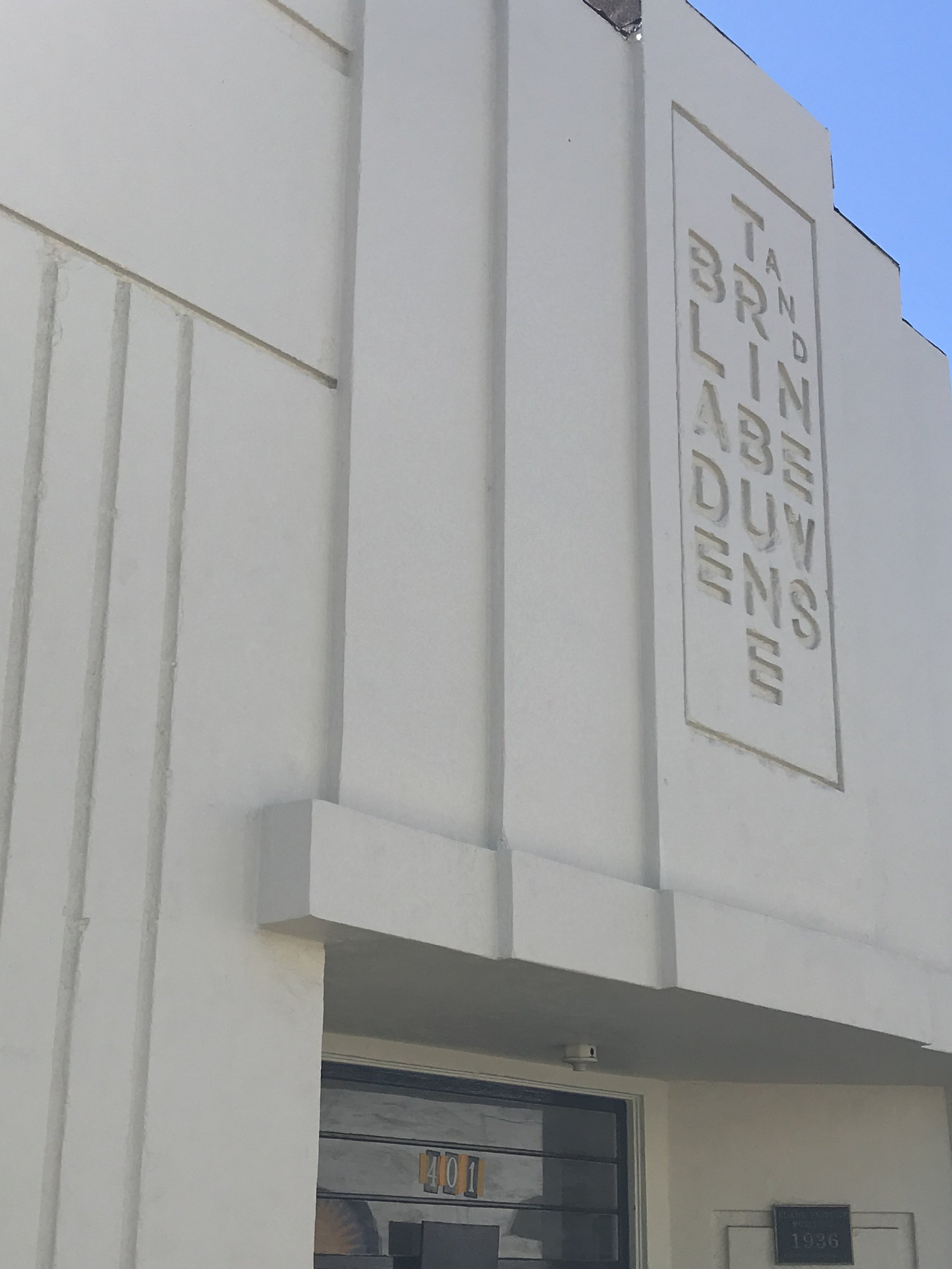 Why Blade 1936? - The name Blade 1936 is a nod to Oceanside's old newspaper, The Blade-Tribune, which occupied the space from 1936 until the 1960s.The historic building which is included in the City of Oceanside's Historical Resources Inventory, was designed by famed San Diego architect Irving Gill in 1936 and is notably his last work before his death. The building is a mix of modern and Art Deco and local architect Kennith Chriss will elevate the space adding rustic, wood and steel elements, while keeping the historic beauty.