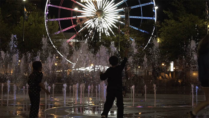 Sony a7rII 1080HD slo-mo at the Centennial Olympic Park fountain