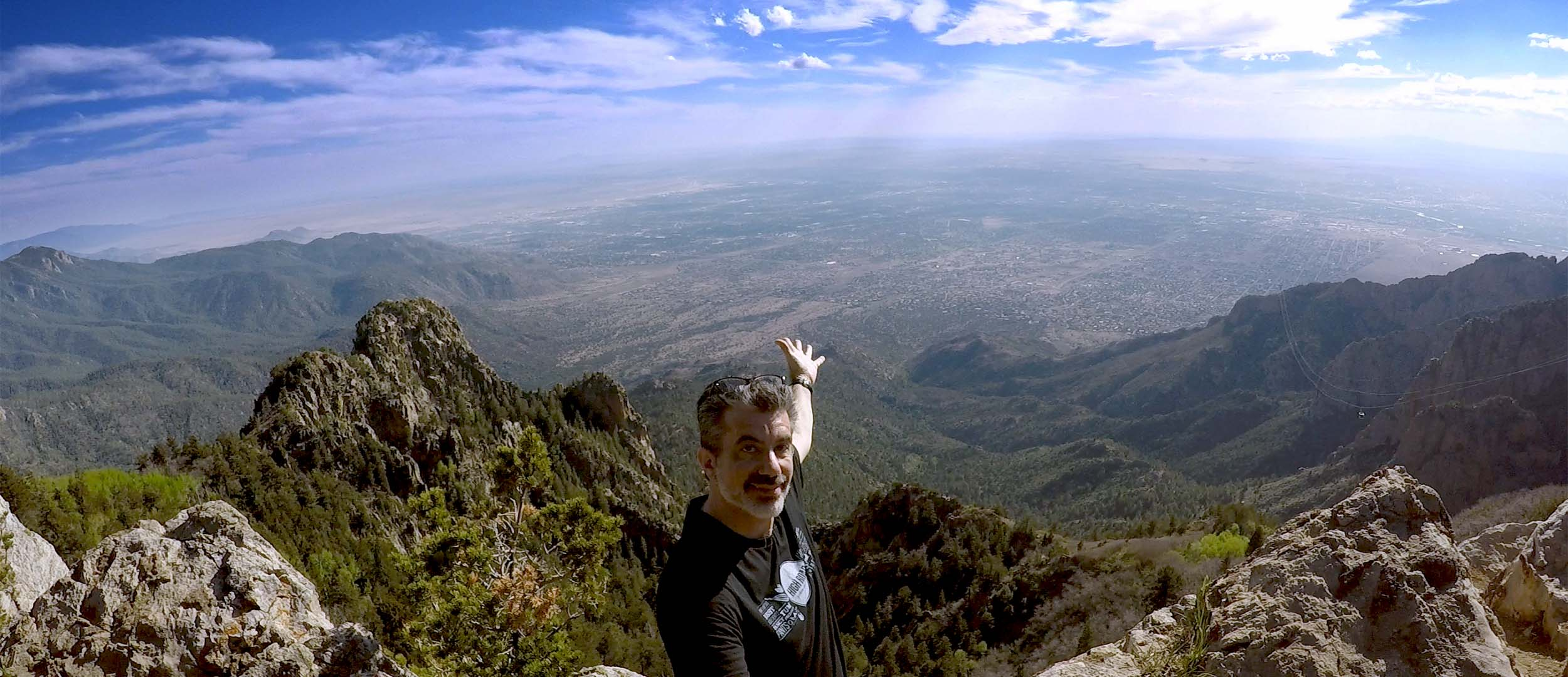 Enjoying life and career at 10,000 feet on Sandia Peak, Albuquerque