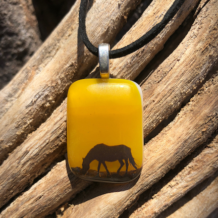 FUSED GLASS PENDANTS -