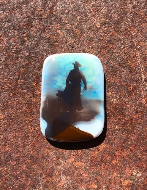 FUSED GLASS MAGNETS -