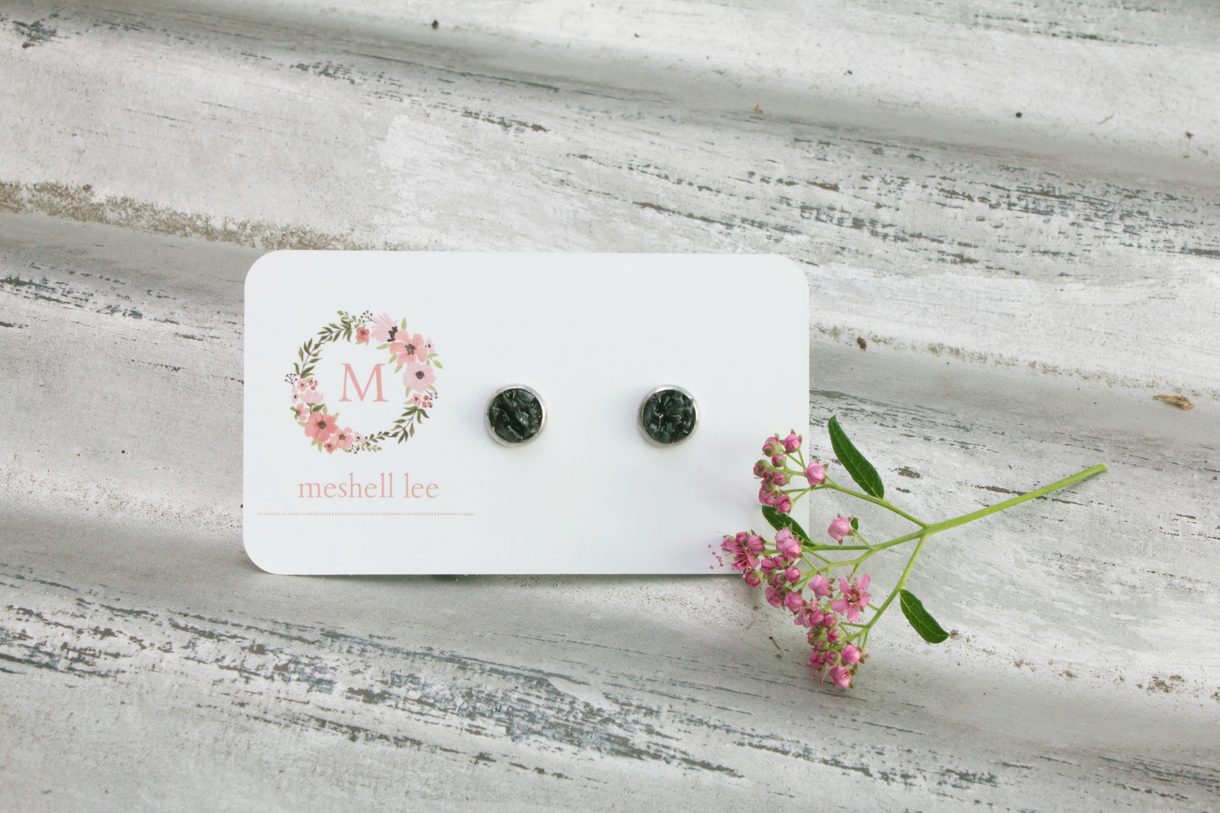 Druzy Earrings featured in Locally Obsessed