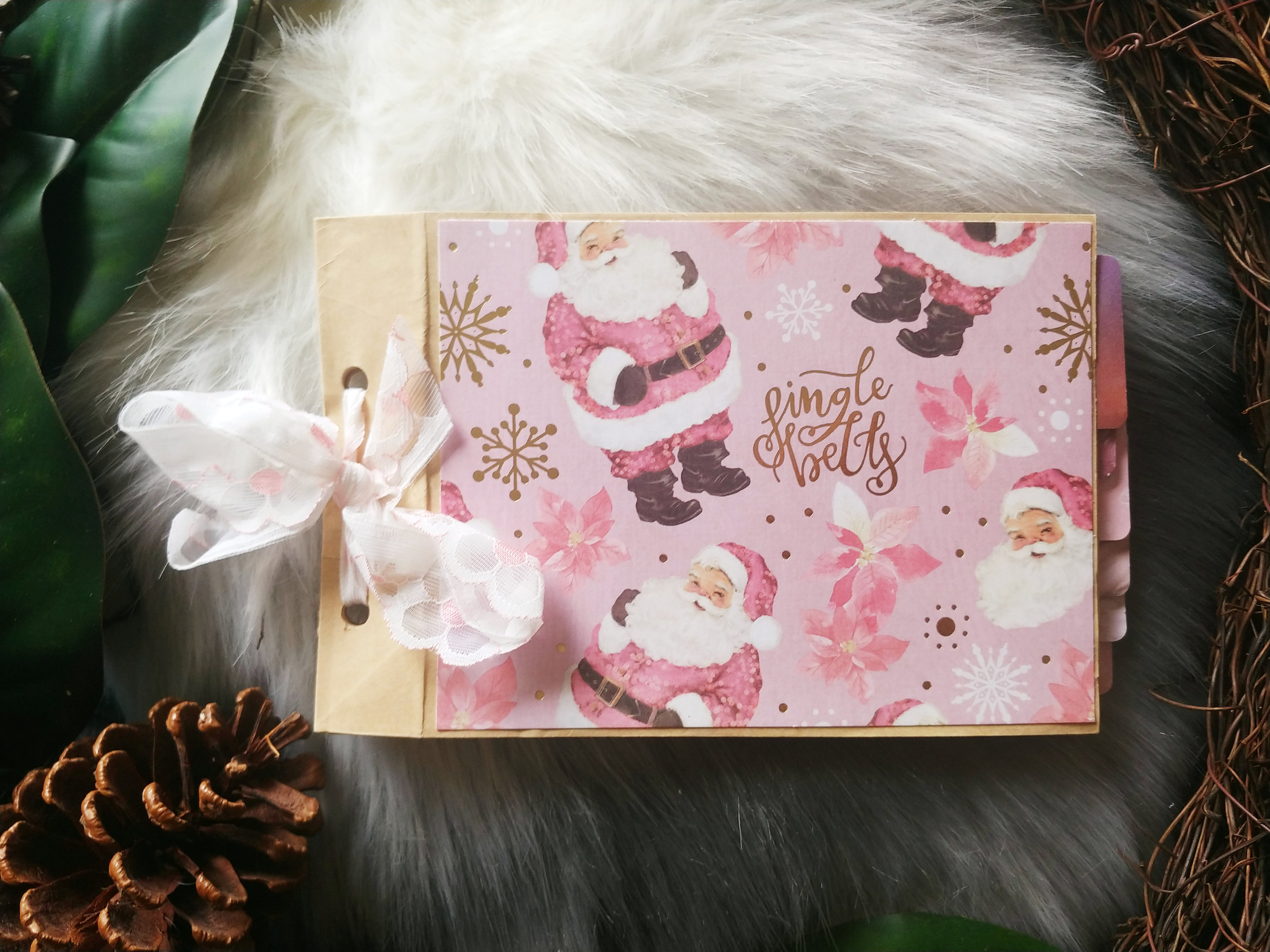 Scrappy Creations by Jenn Christmas Scrapbook