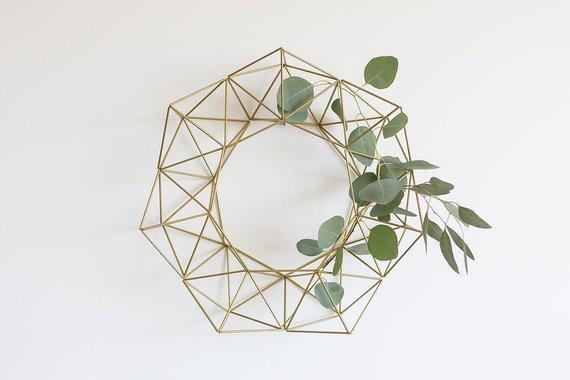 Himmeli Wreath by Himmeli West Designs