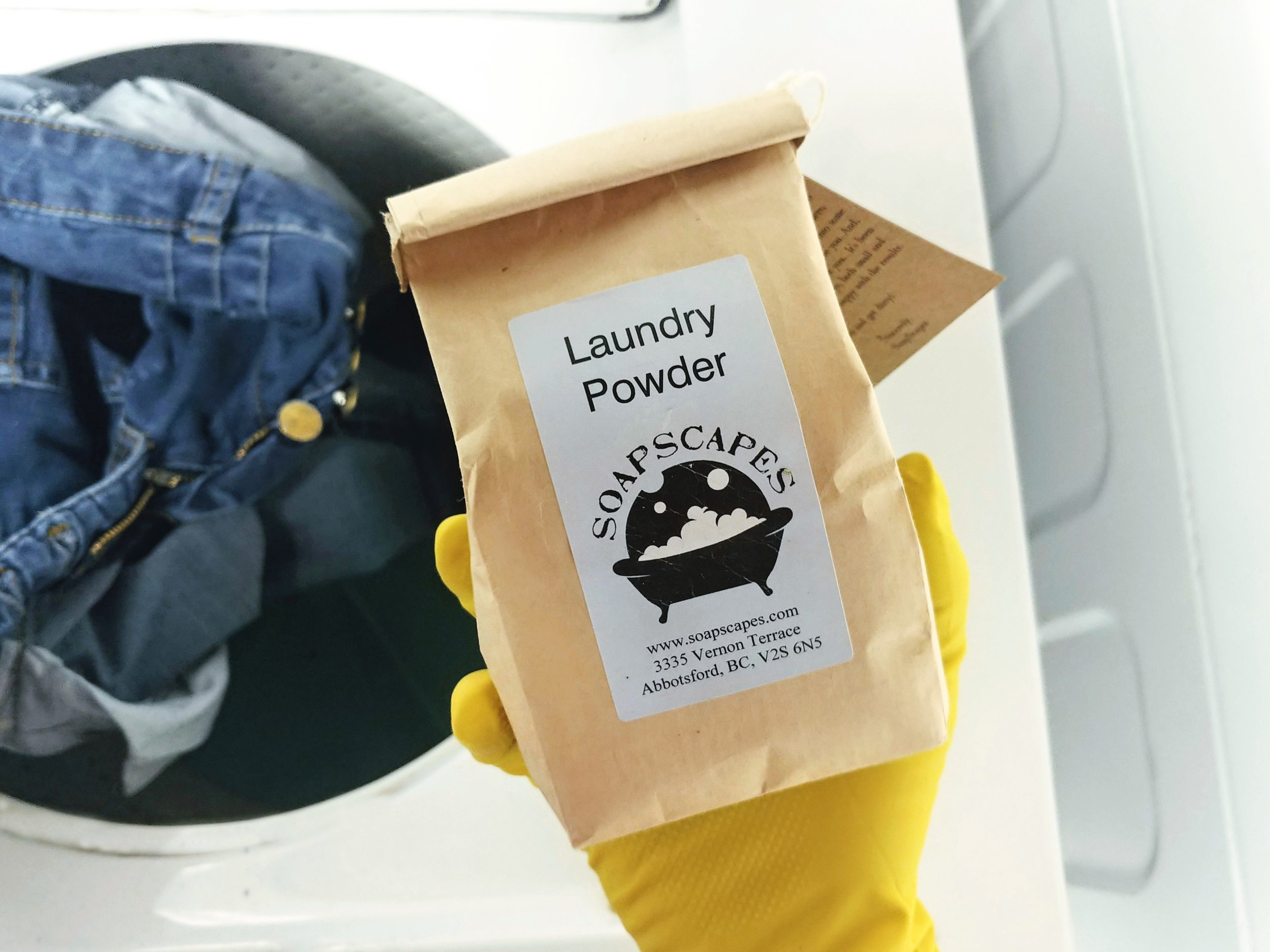 Laundry Soap from  Soap Scapes  in Abbotsford, BC