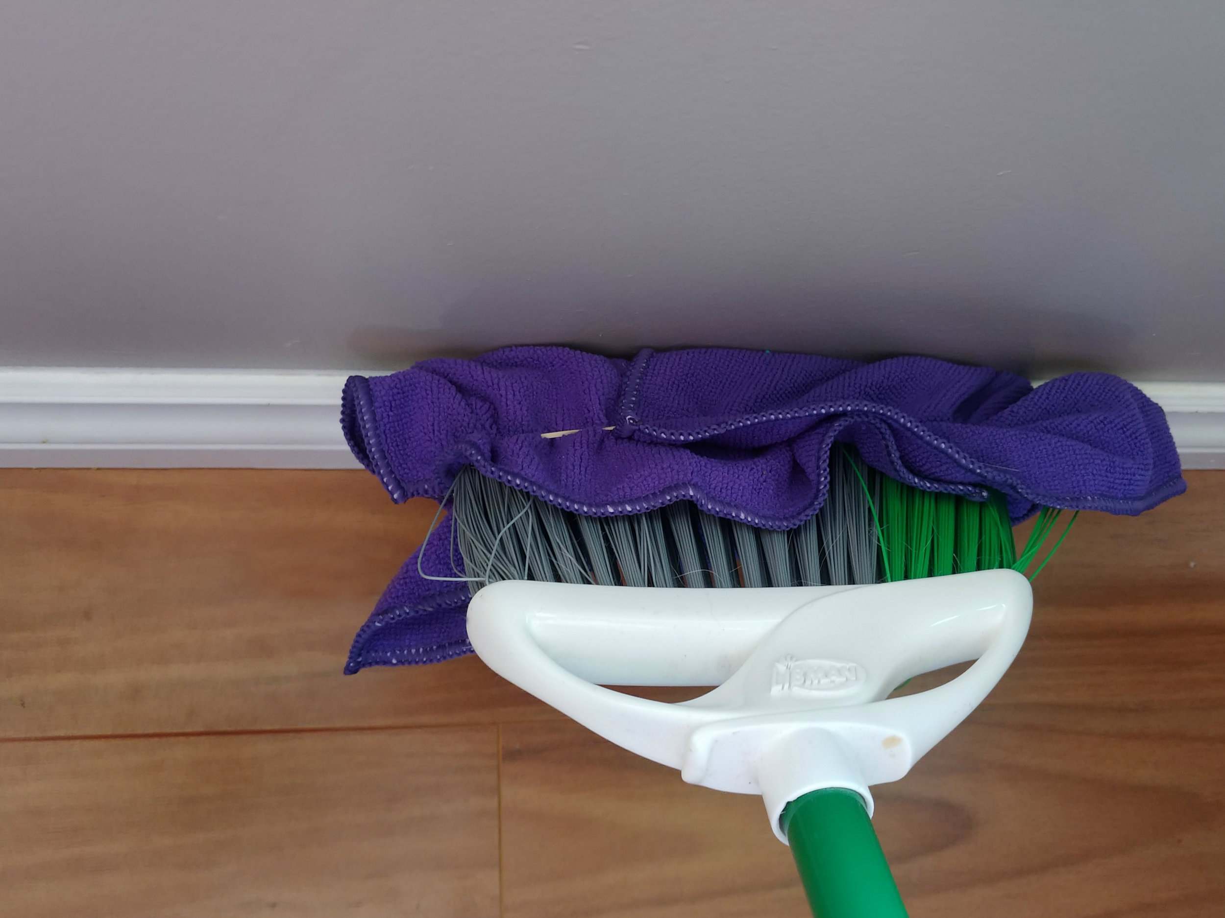 Baseboard Cleaning Hack!