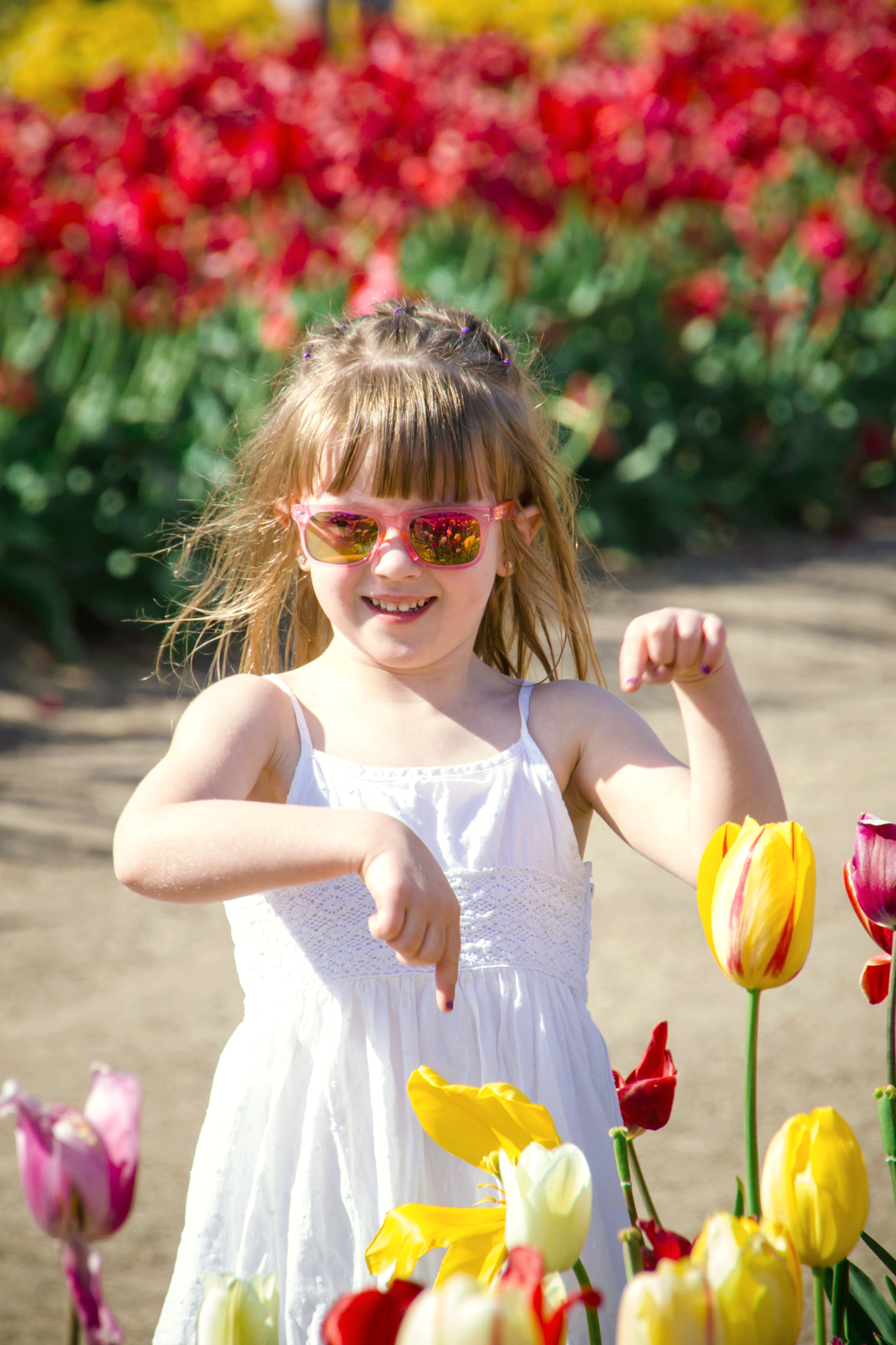Children's Photography Tulip Festival