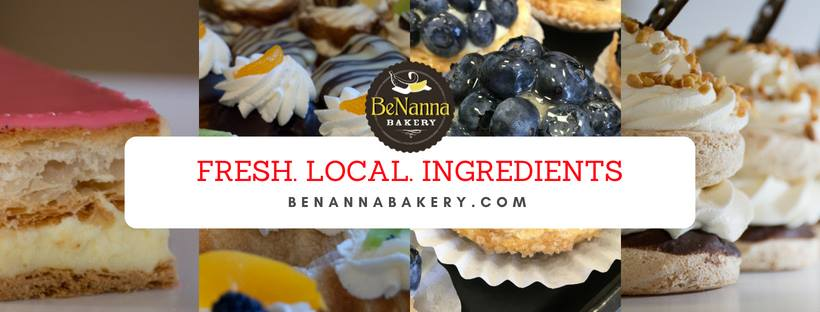 BeNanna Bakery - Chilliwack bakery using locally sourced ingredients. Bread baked fresh daily. Gluten-free and lactose-free options.