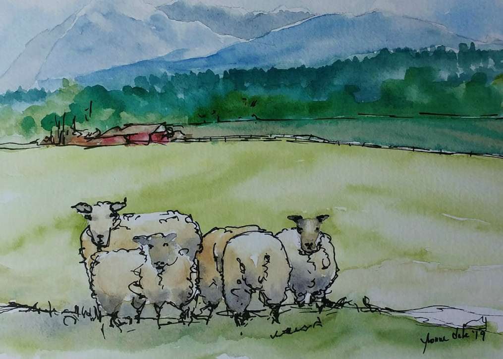 Image by Yvonne Dale Watercolours