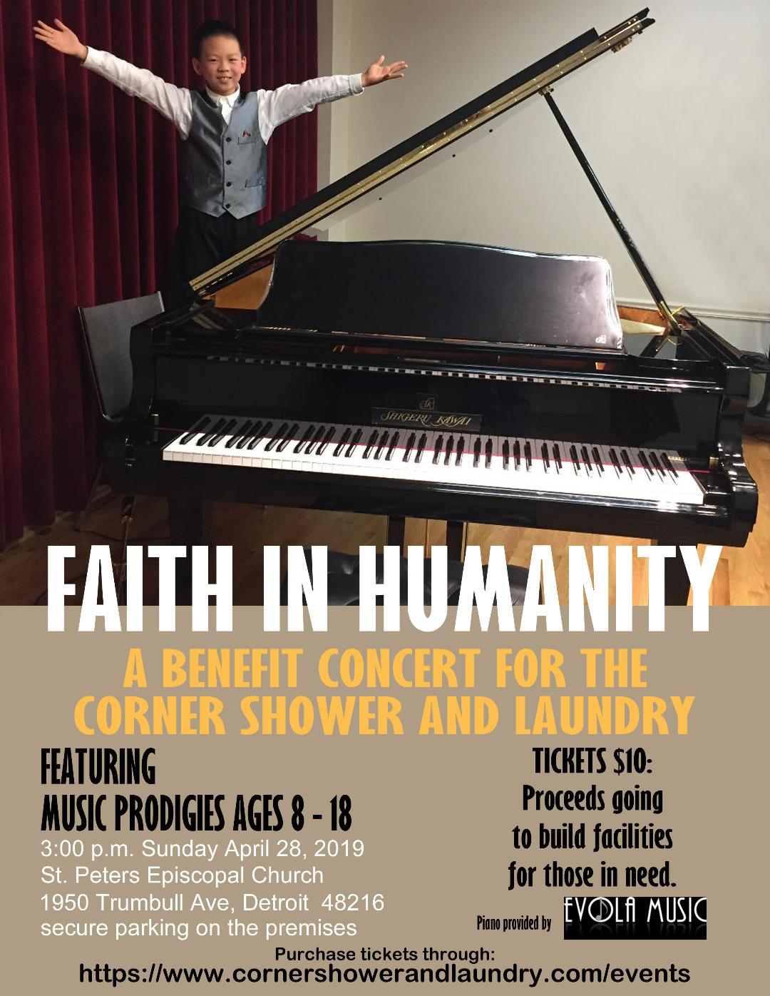 Faith in Humanity Concert 2019 April 28