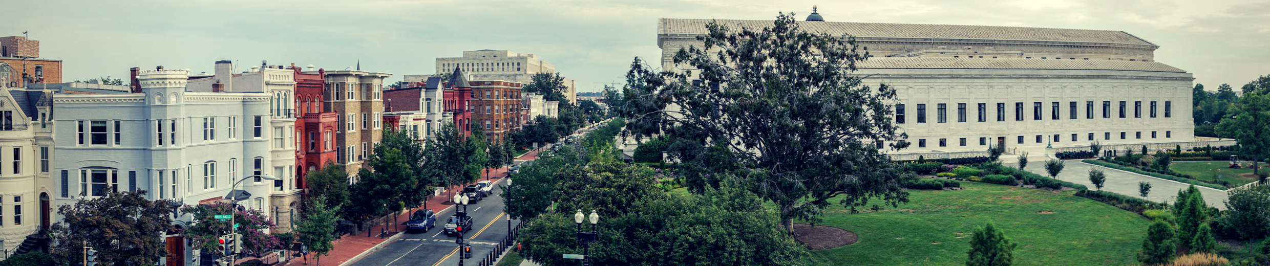The view from our historic headquarters in Washington, DC