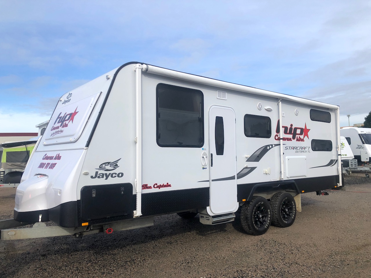 "2017 Starcraft Outback 22ft Van ""The Captain"" - Sleeps 4/5"