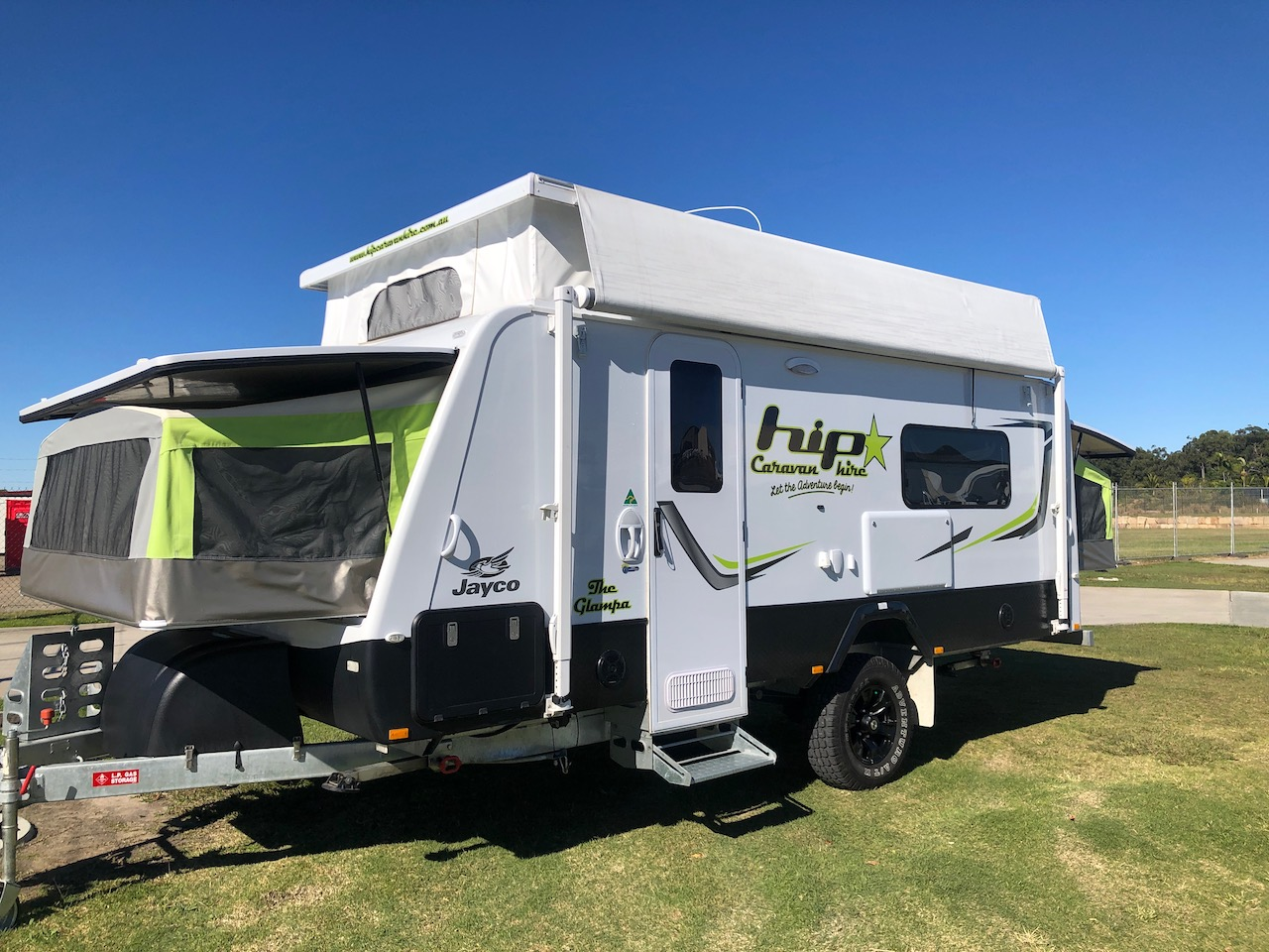 "Expanda Outback 16ft ""The Glampa"" - Sleeps 6"