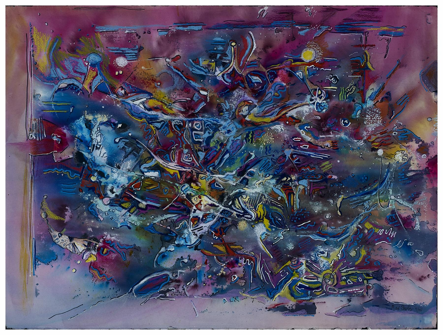 Iridescence 1995 23x30 Mixed Medium
