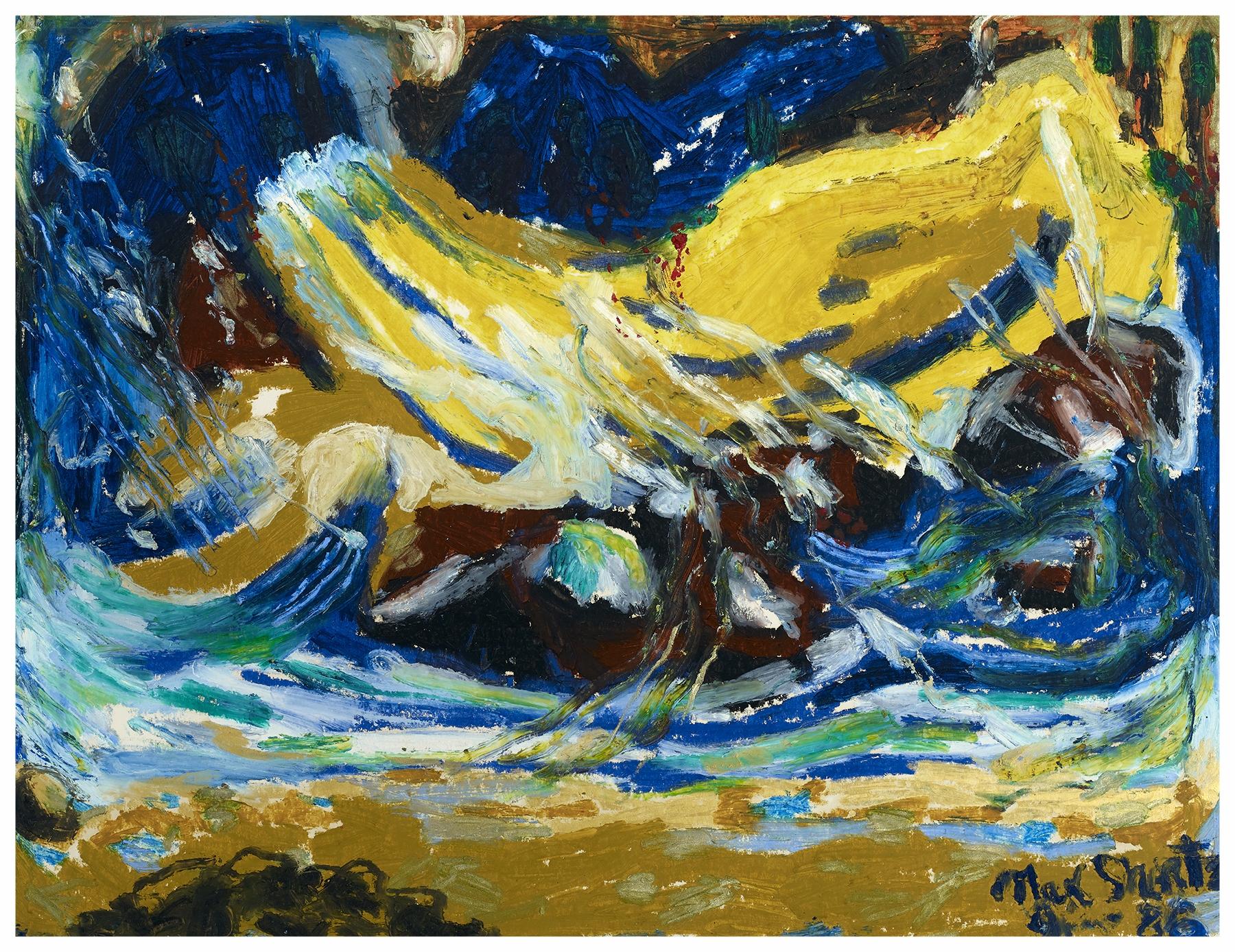 Crescendo 1986 20x26 Acrylic