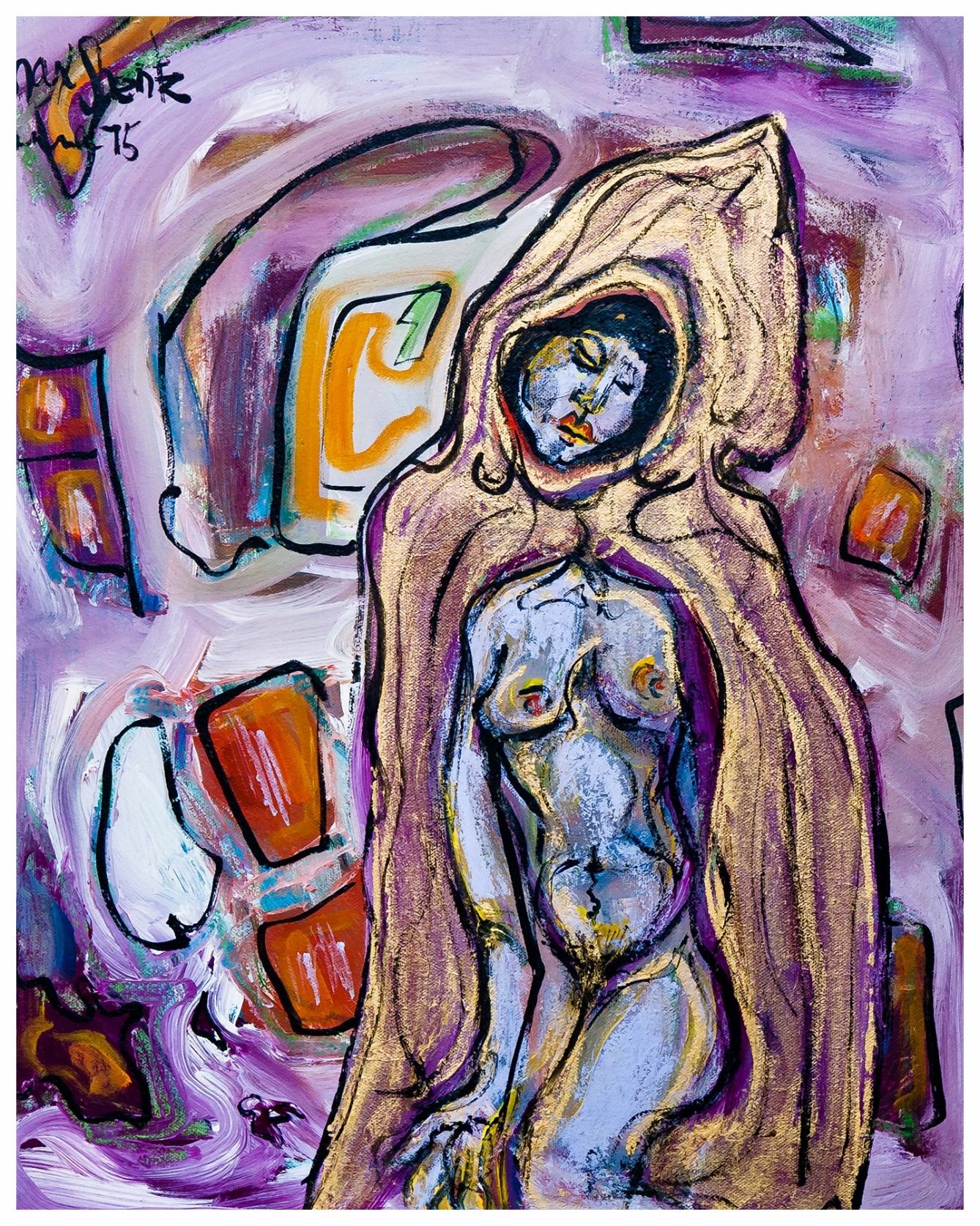 Dreamlike 1975 12x9 Mixed Medium