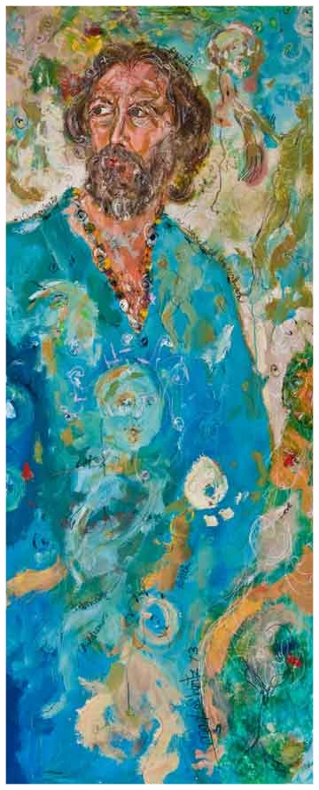 March Of My Years 1972 Acrylic