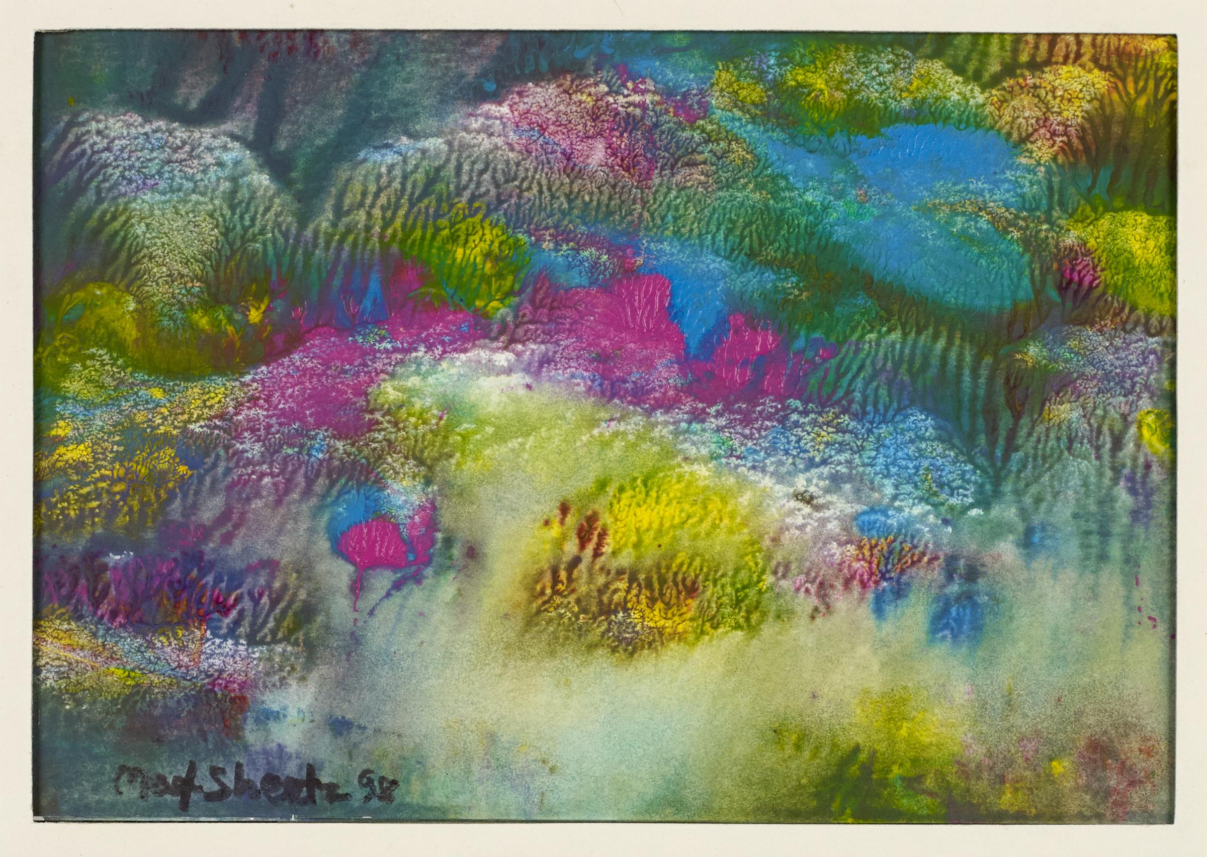 Land Of Wonders 2000 5x6 Mixed Medium