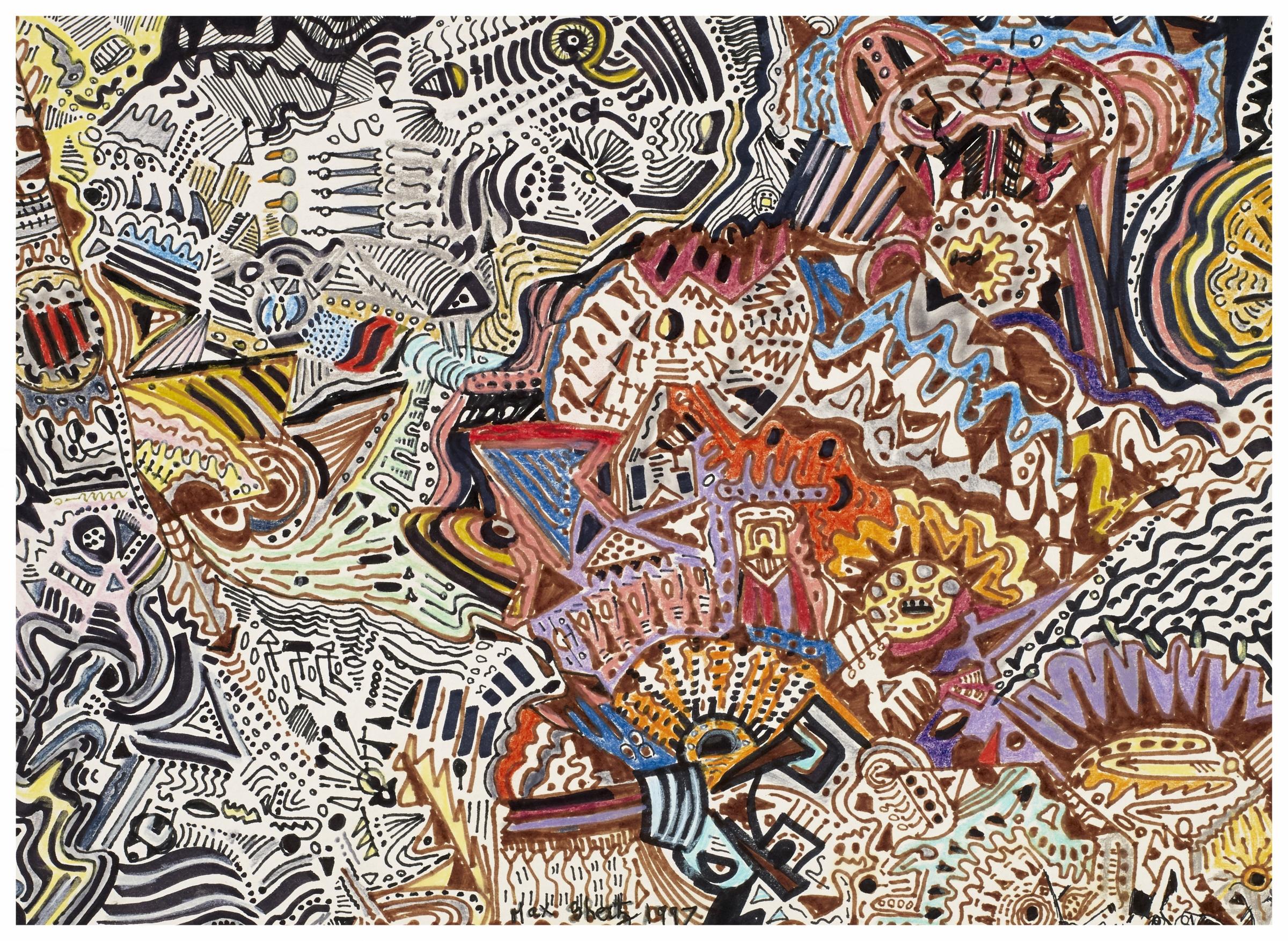 Aztec Spirit 1997 10x13 Pens