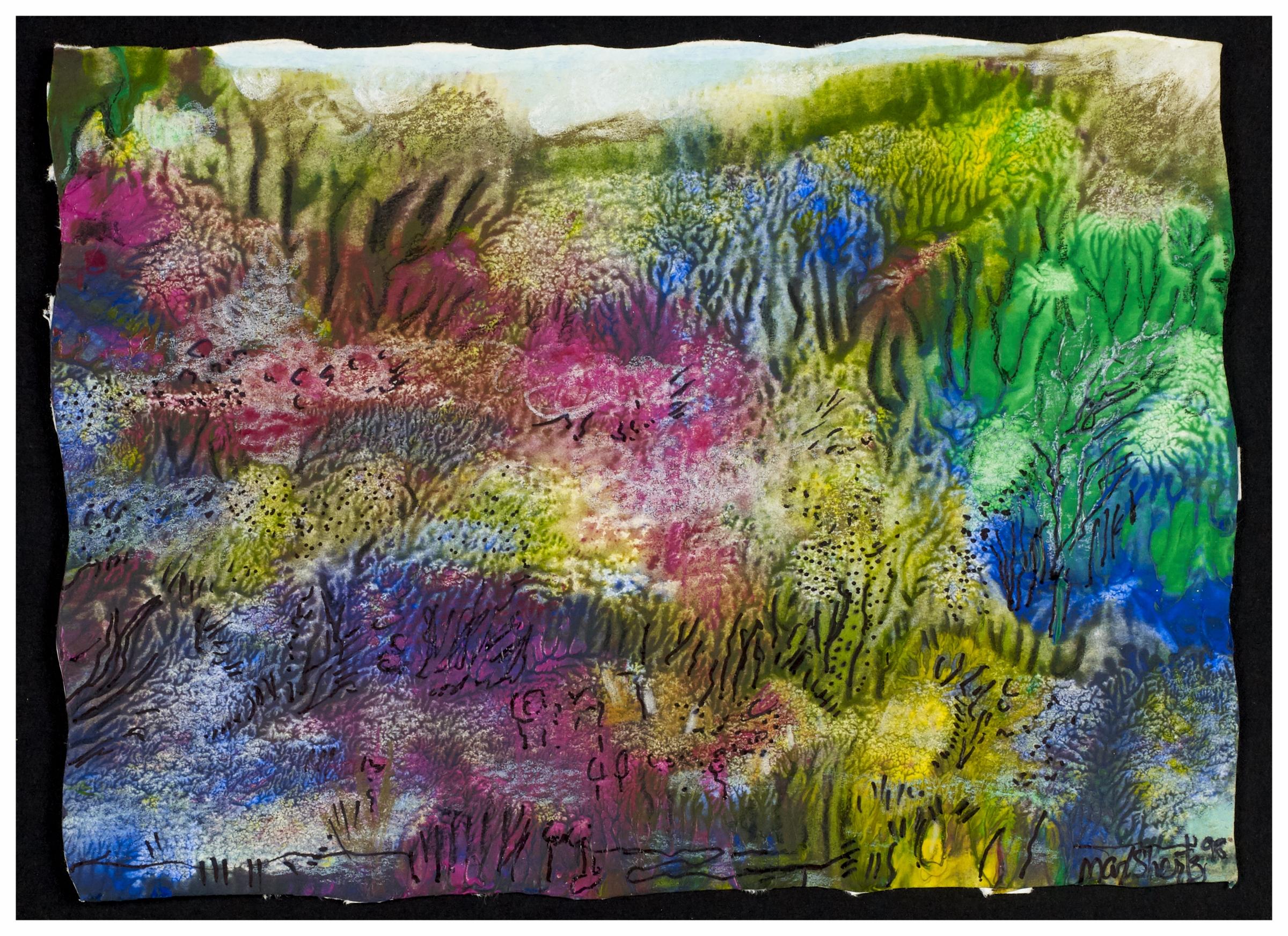 Corals 1998 5x7 Mixed Medium