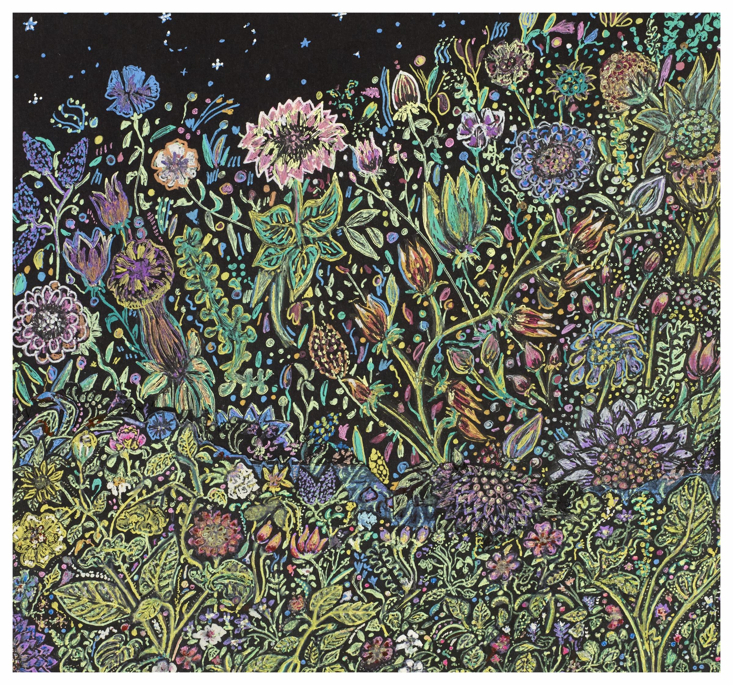 Flowery Dance 2000 9x9 Gel Pens