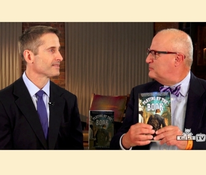Rocco Staino of KidLit TV interviews interviews S. Chris Shirley, author of  Playing by the Book.