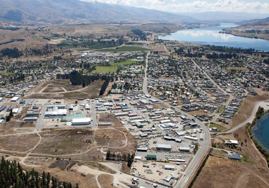 Industrial Subdivision - Cromwell, New Zealand