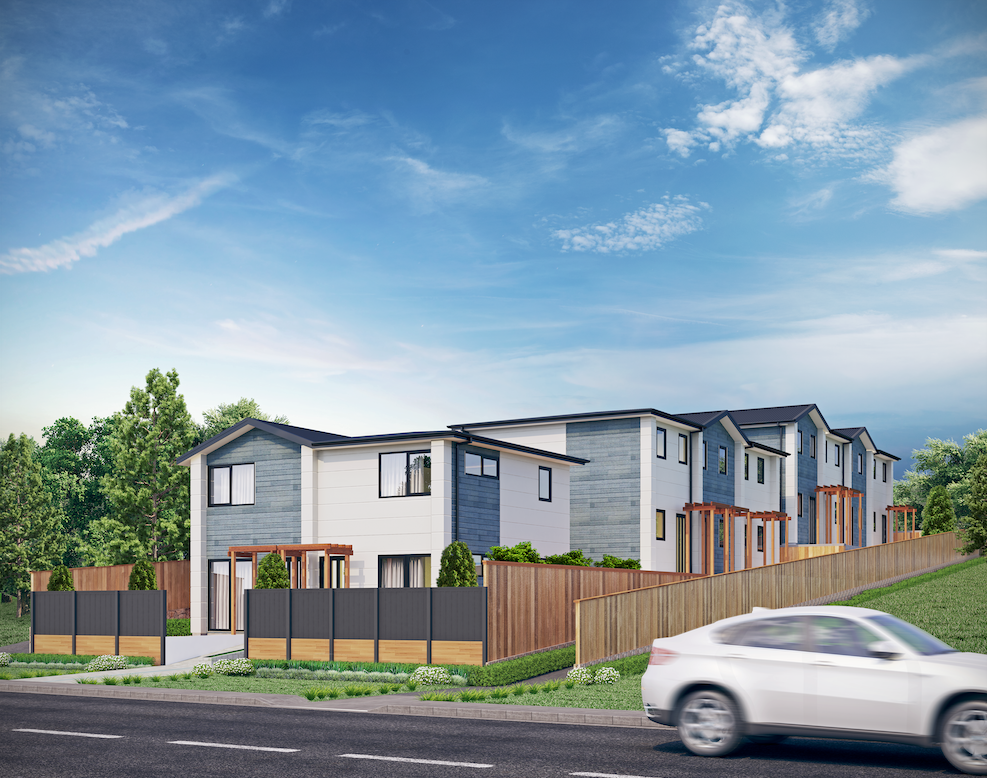 Henderson Auckland townhouses -