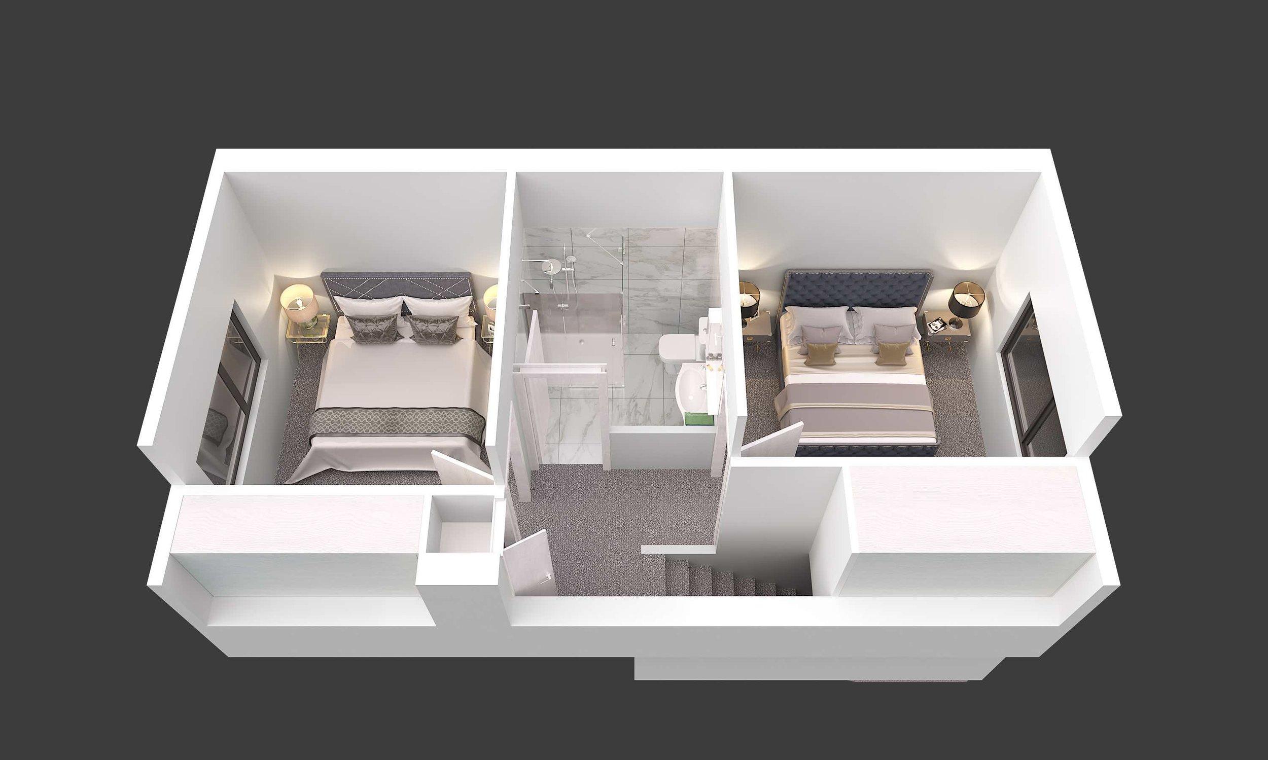Image-First Floor.jpg12 Freyberg Ave, Riccarton, Christchurch, TOWNHOUSES