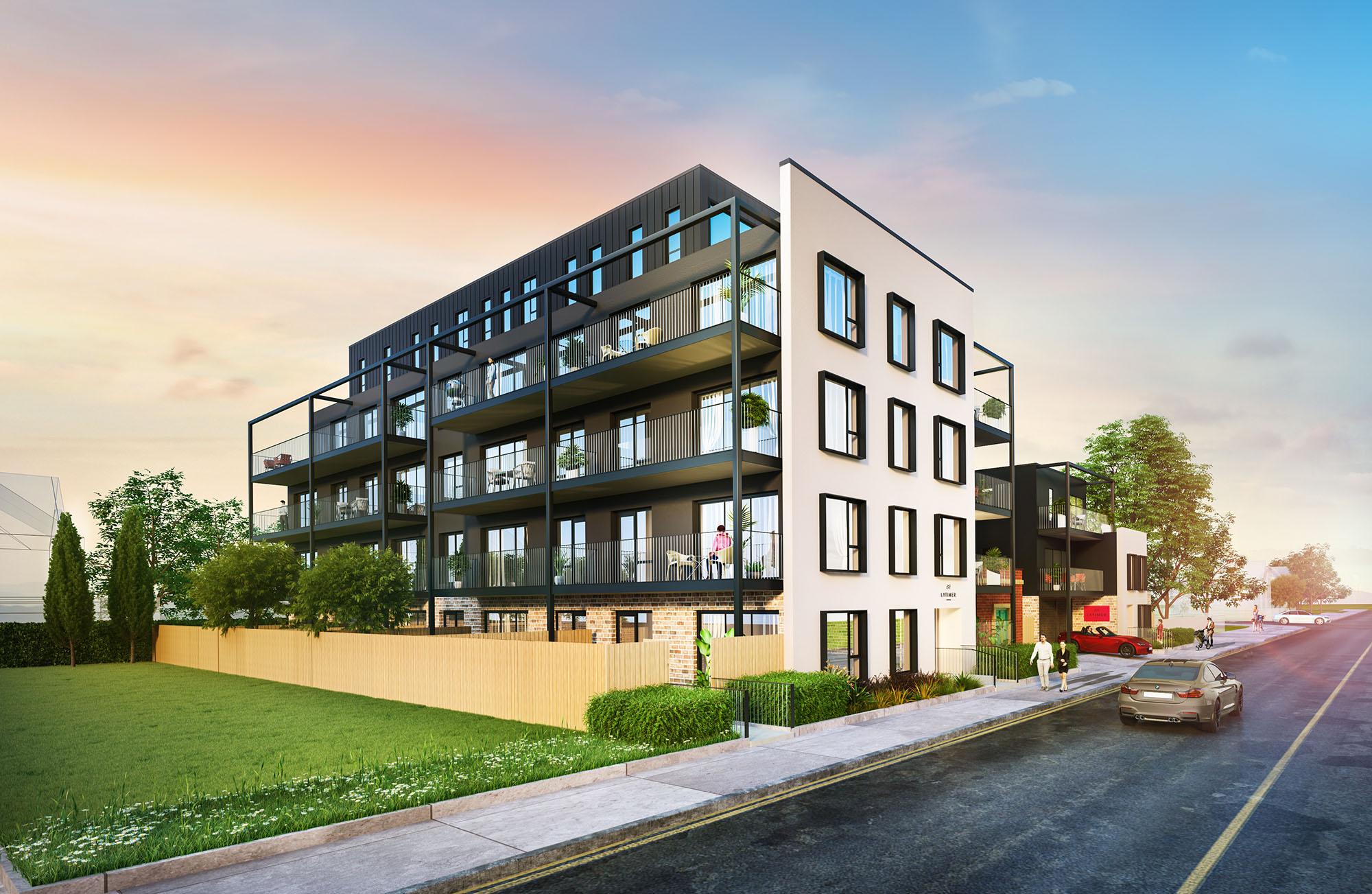Christchurch central apartments -
