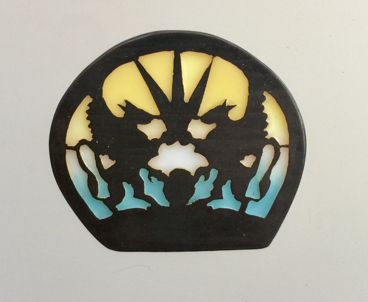 Two Griffins Silhouette