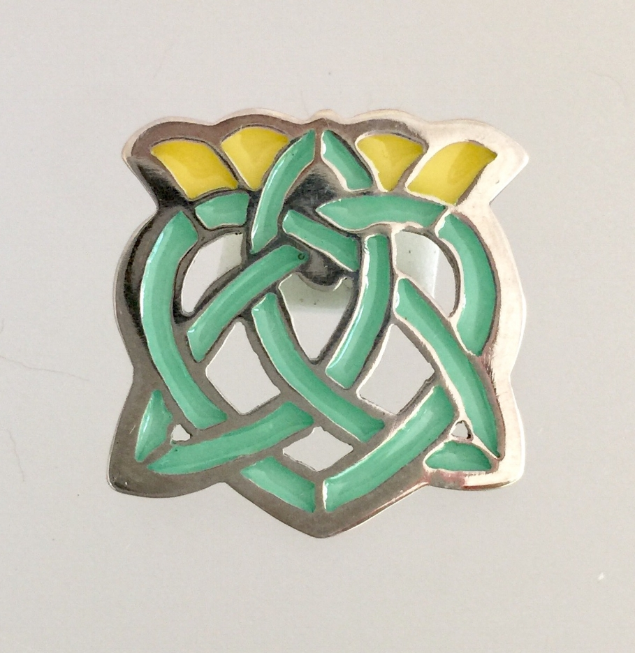 Celtic Knot Crown on Heart