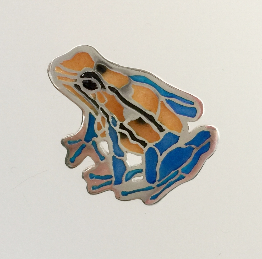 Blue/Orange Poison Dart Frog