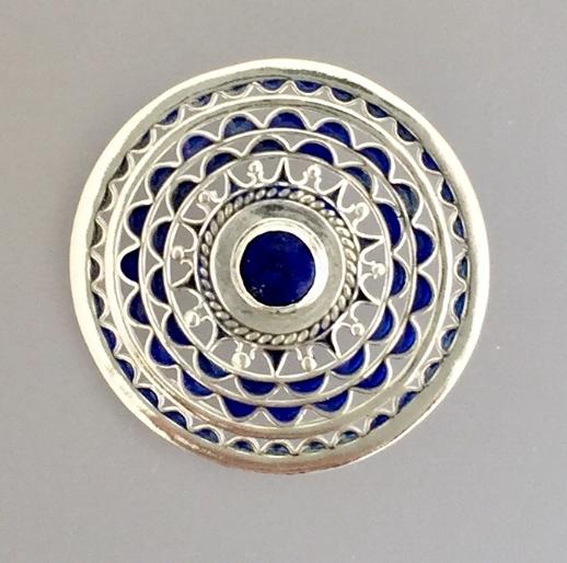 Inca Reminder (with Lapis Lazuli)